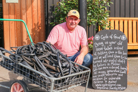 Bill and the Deepdale Inner Tube Collect
