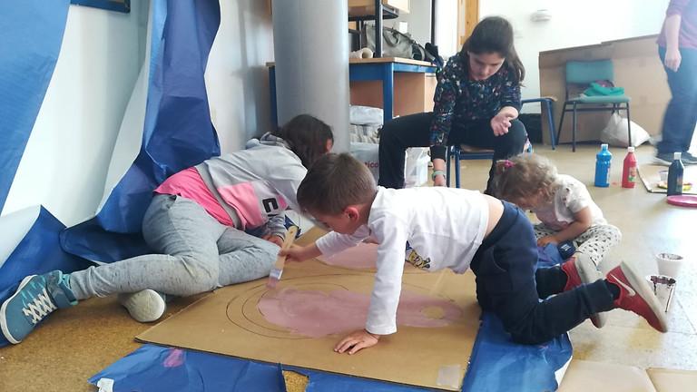 PLÁSTICAS | Artistas de Cartón - De 6 a 9 años