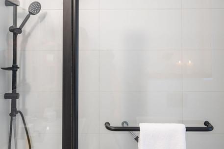 No 3 - B&W  Shower