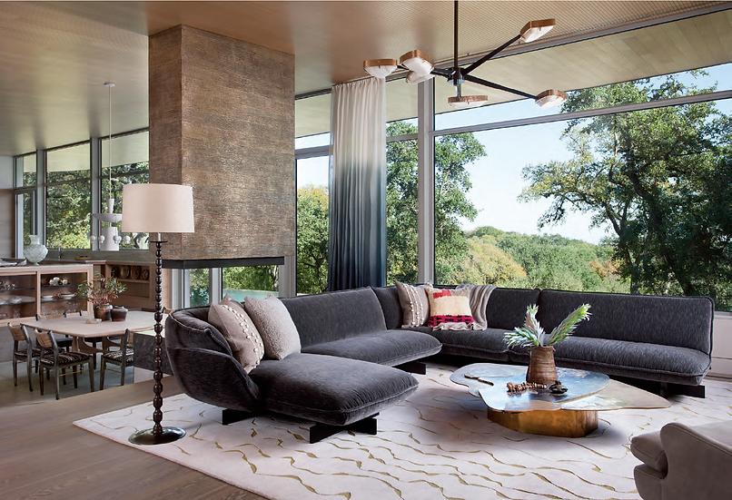 Superbeam sofa in LUXE Austin