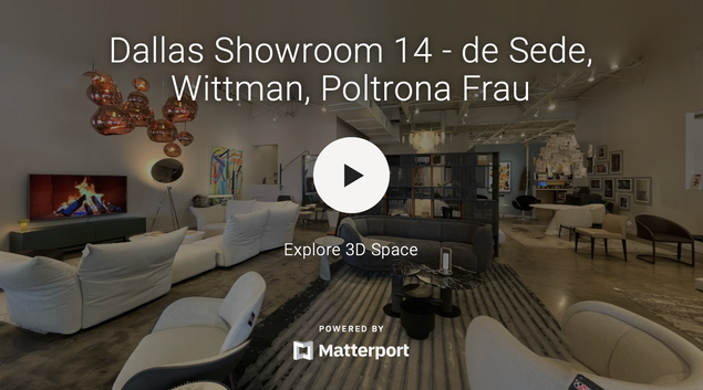 Dallas Showroom 14 - de Sede, Wittmann, Poltrona Frau