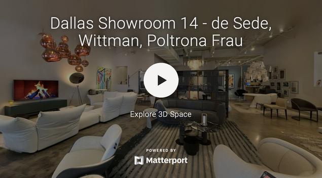 Dallas Showroom 14 - de Sede, Wittmann, Poltrona Frau