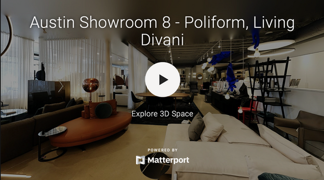 Austin Showroom 8 - Poliform, Kiving Divani