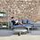 Thumbnail: Flat Sofa Modular 3