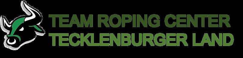 Team Roping Center Tecklenburger Land Logo
