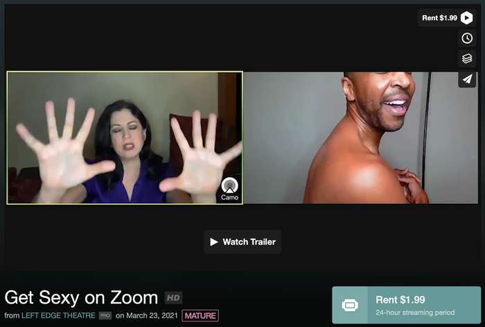 Get Sexy on Zoom