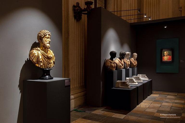 Fotografia: scenografia, interior design, editing. Mauro Fontana Fotografo. Andrea Mantegna, Palazzo Madama Torino 2020.