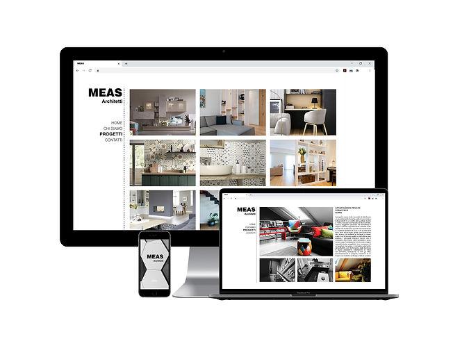 MEAS Architetti: web design, studio grafico. Realizzato da Euforia Creative Hub
