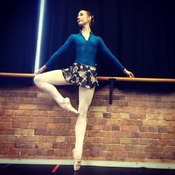 Instagram - Beautiful Lisa @sweetlisa22 wearing the Pull Up Skirt in chiffon! 🌷 #handmade #ballet #