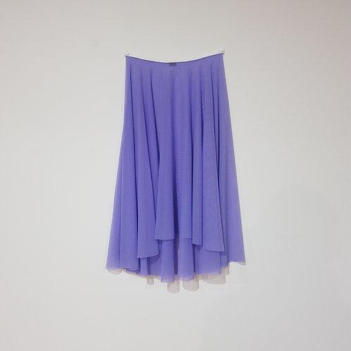 Mesh High-Low Rehearsal Skirt