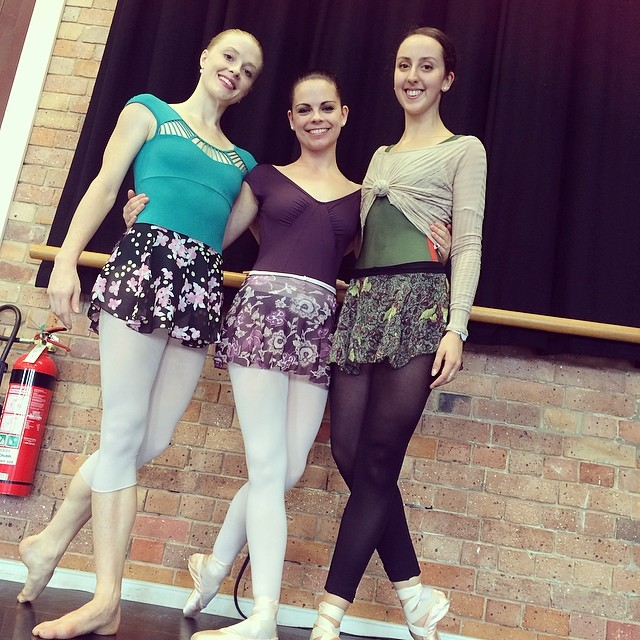 Instagram - How cute do these awesome dancers, Tamara, @terihammond  and @vanessakmorelli look in th