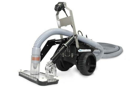 Crawler with Vacuum Attachment