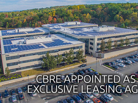 CBRE TAPPED TO OVERSEE LEASING CAMPAIGN AT EISENHOWER CORPORATE CAMPUS IN LIVINGSTON, NEW JERSEY