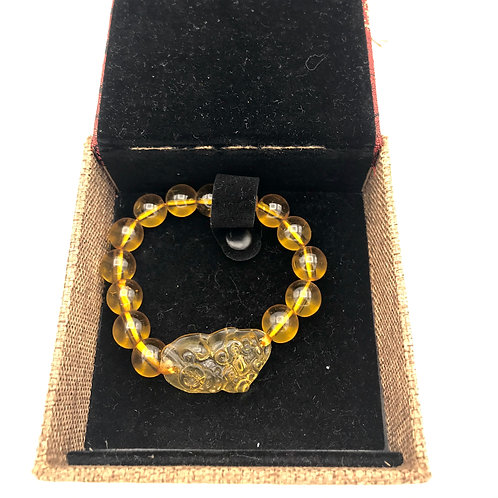 Feng Shui Citrine Bracelet