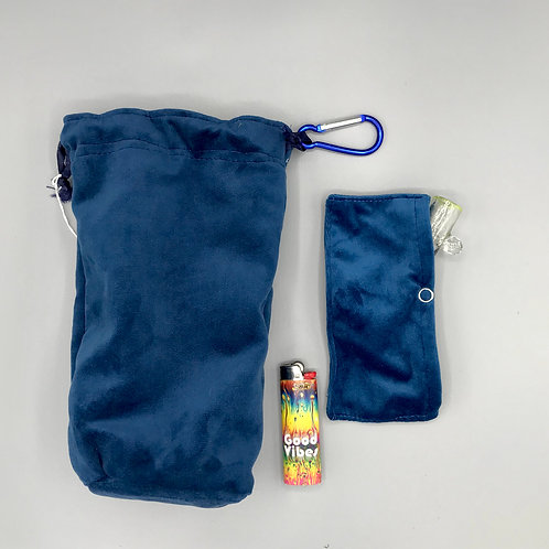 Blue Crush Stash Bag