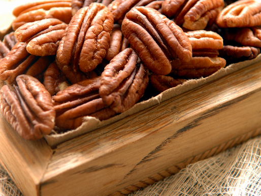 Spiced and Candied Maple Pecans