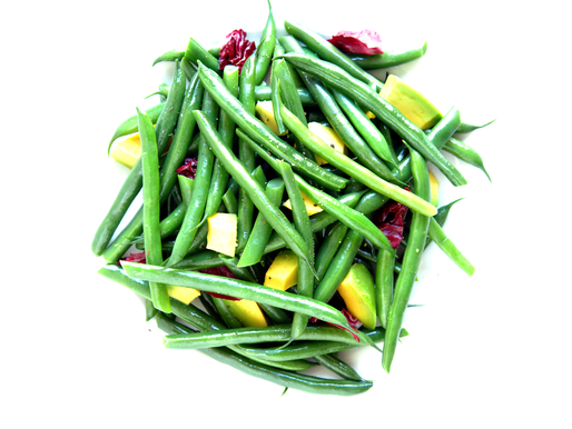 Green Bean Heirloom Tomato and Avocado Salad