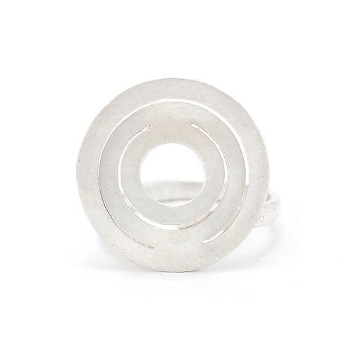 Anillo Espiral mini plata .925