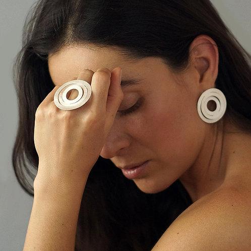 Anillo Espiral plata .925