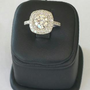 Custom Engagement Ring 347