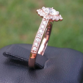Custom Engagement Ring 953
