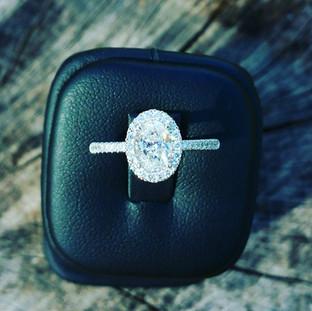 Custom Engagement Ring 824