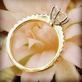Custom Engagement Ring 987
