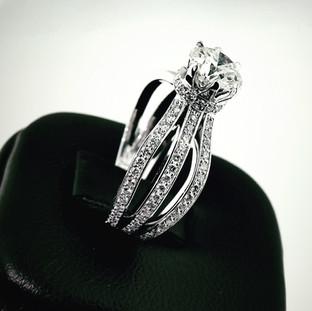 Custom Engagement Ring 719