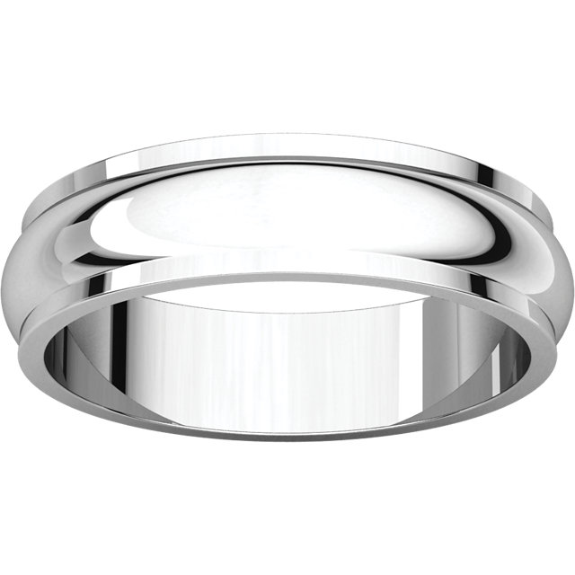 Half Round Edge Men's Band alternate view