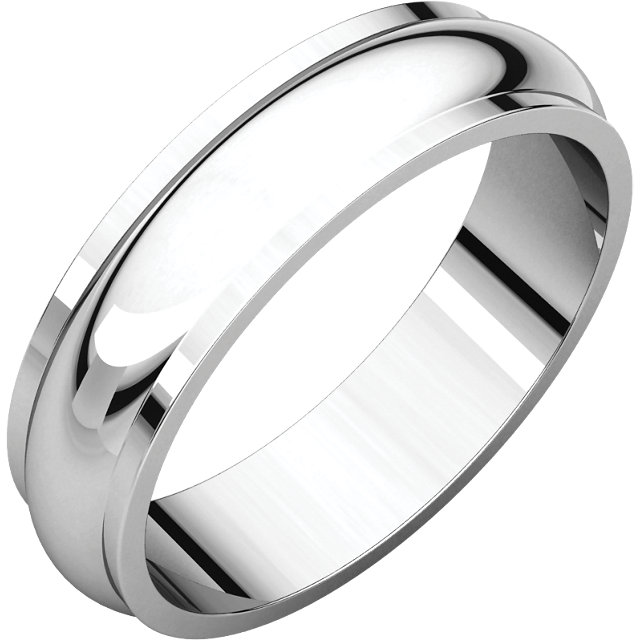 Half Round Edge Men's Band