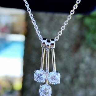 Custom Diamond Necklace 612