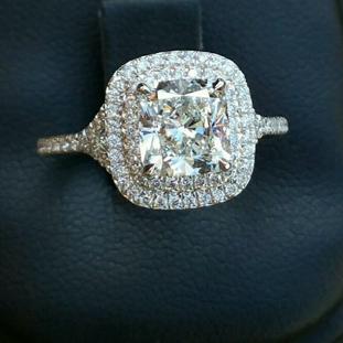 Custom Engagement Ring 638