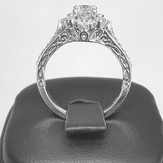 Custom Engagement Ring 673