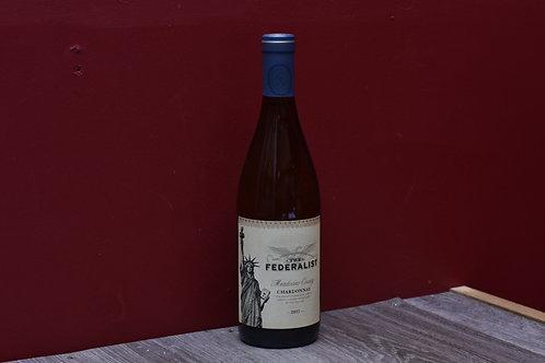 The Federalist Chardonnay, Mendocino County