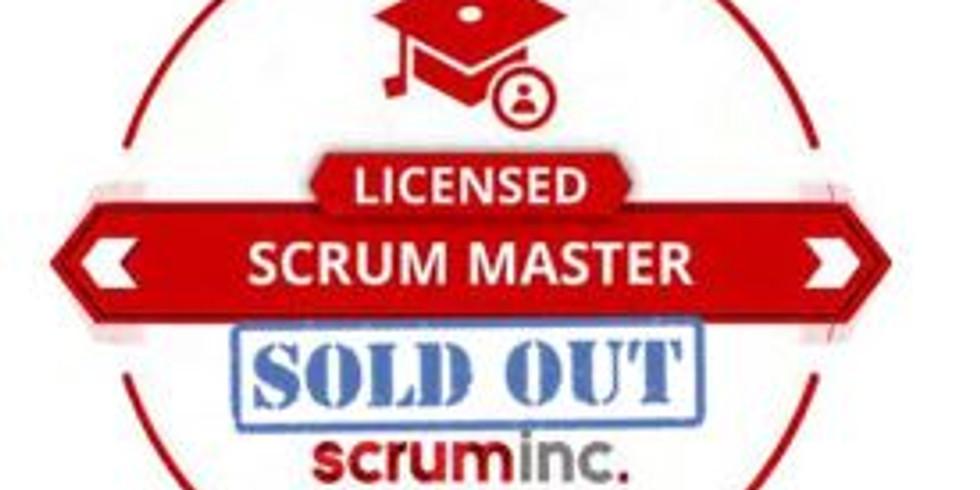 Live Online - Licensed Scrum Master Training