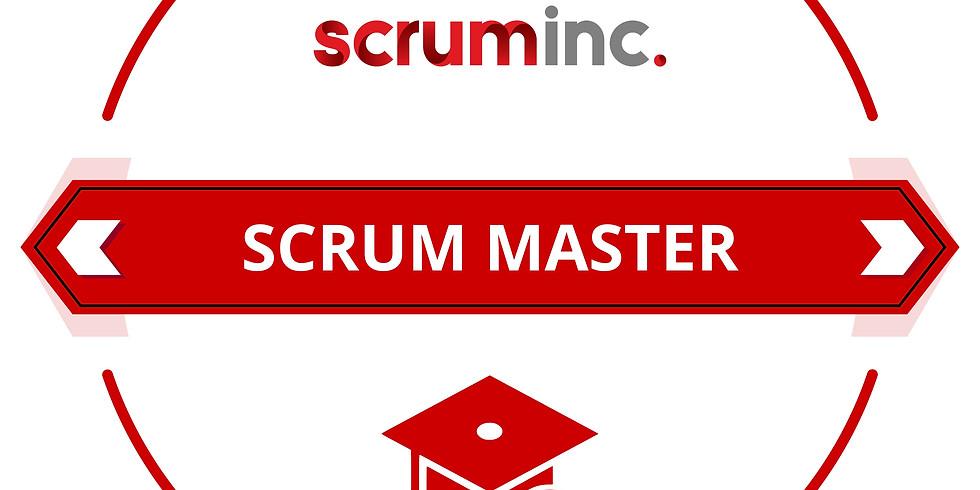 Sept 9-10 Live Online - Scrum Master by Scrum Inc