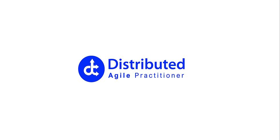 Dec 1  Live Online - Distributed Agile Practitioner -
