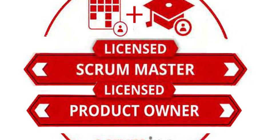 Live Online- LSM+LSPO: Licensed Scrum Master AND Licensed Scrum Product Owner