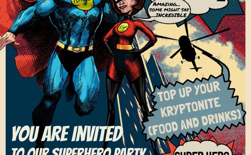 Superhero Event