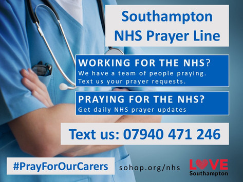 Southampton NHS Prayer Line
