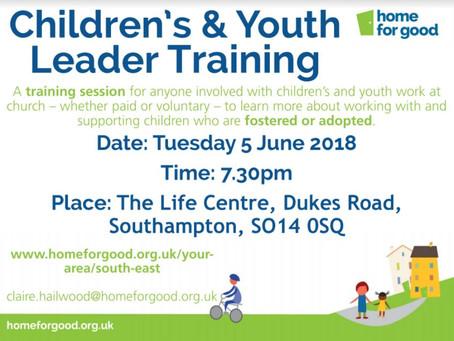 Children's & Youth Leader Training