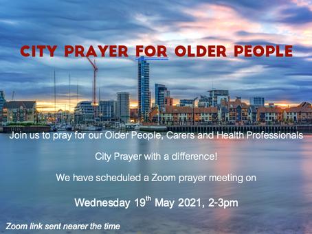 City Prayer for Older People
