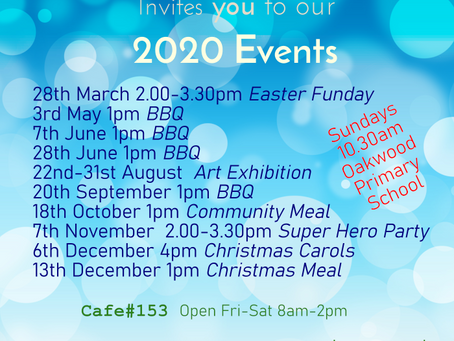 2020 Events at King's Church