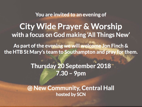 Citywide Prayer & Worship
