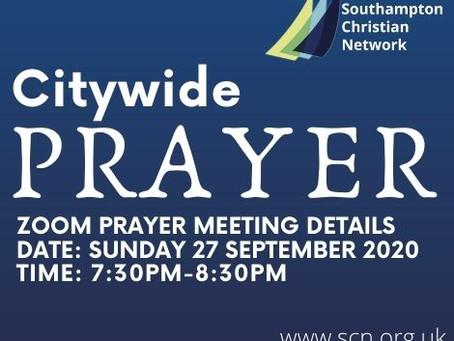 Citywide prayer