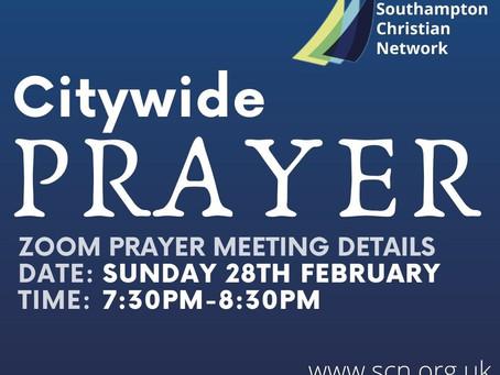 Citywide Prayer Meeting