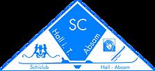 Logo Skiklub Hall Absam Innen Weiss.png