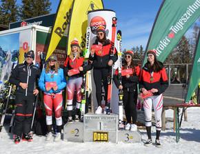 Podestplatz für Elisa bei den Tiroler Meisterschaften im SG