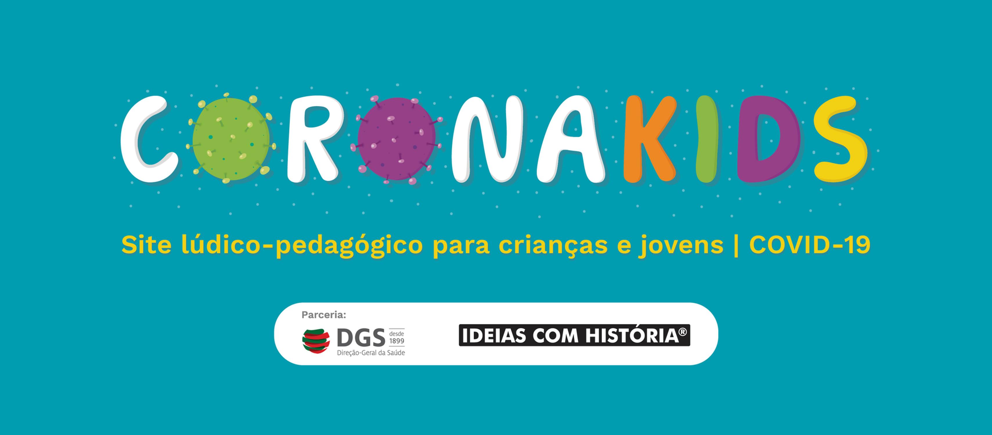 CoronaKids | Site lúdico-pedagógico