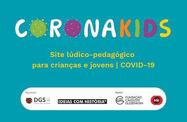 CoronaKids | Site de sensibilização sobre a covid-19 para crianças e jovens
